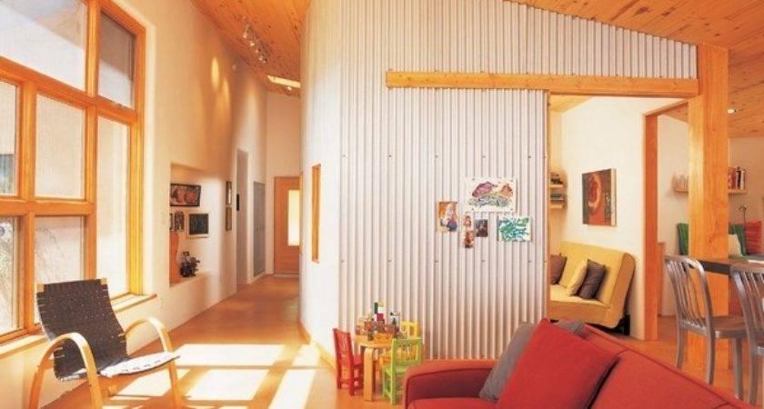 Corrugated Metal Interior Design Creative Ideas