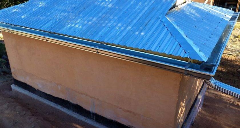 Corrugated Metal Roof Gutter Detail
