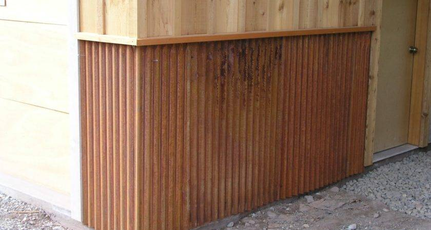 Corrugated Metal Wainscoting Myideasbedroom