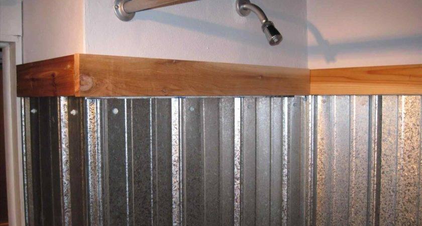Corrugated Steel Interior Walls Sofa Cope