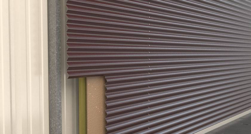 Corrugated Steel Walls Pin Pinterest