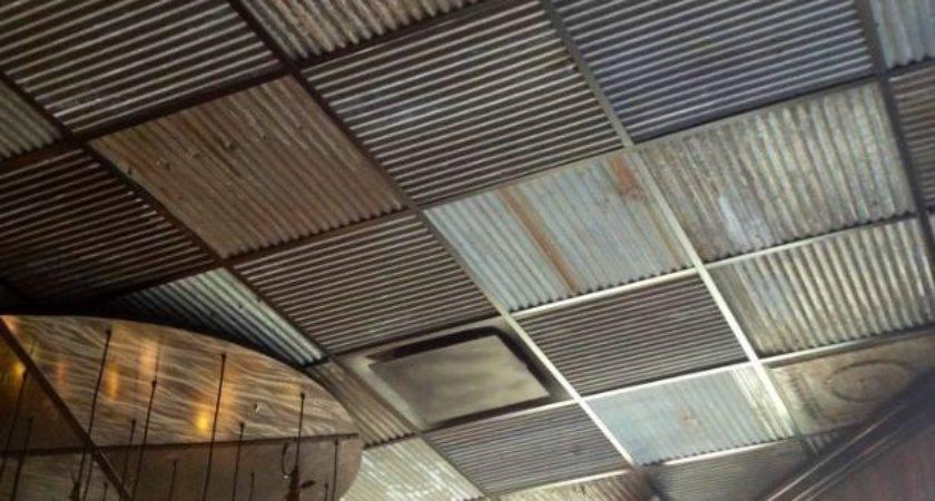 Corrugated Tin Ceiling Neiltortorella