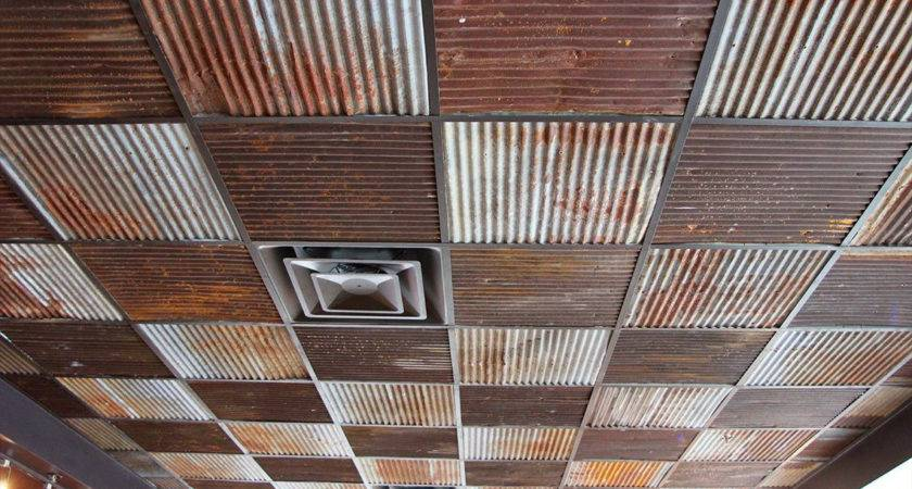 Corrugated Tin Ceiling Tiles