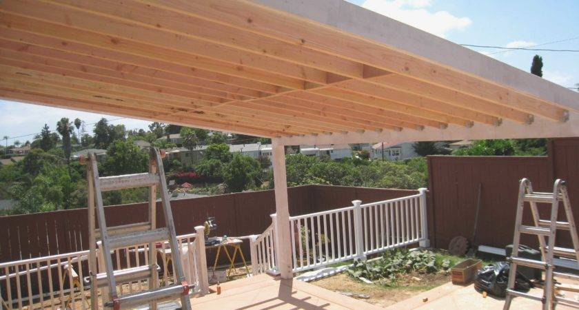 Cost Build Covered Patio Cover New