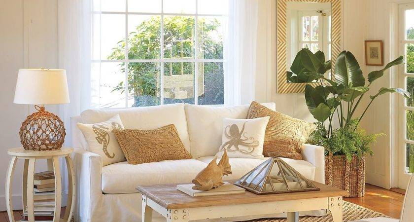 Cosy Beach Themed Living Room Ideas Decobizz