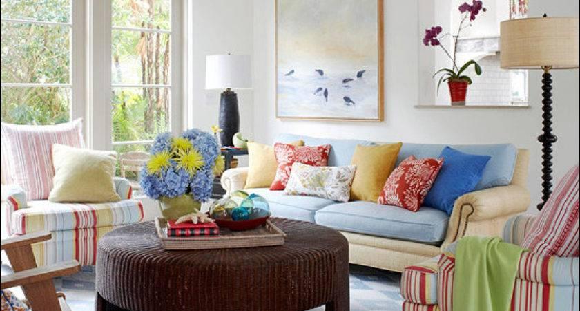 Cottage Living Room Design Ideas