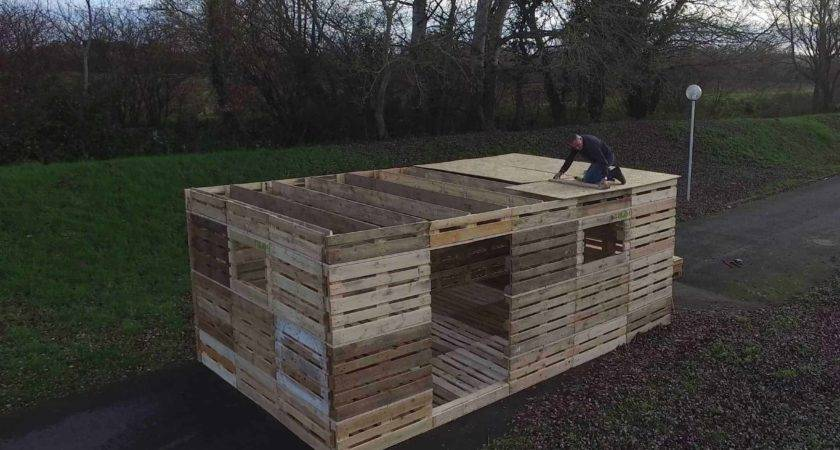 Could Build Shelter Pallets One Day