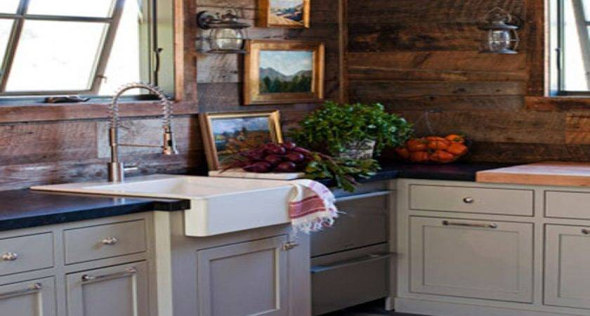 Country Cottage Wall Decor Rustic Cabin Kitchen Ideas Log