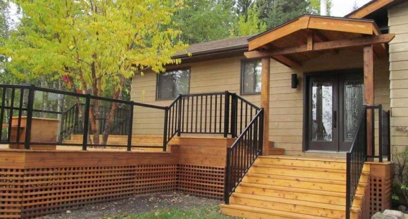 Country Decks Ideas Home Building Plans