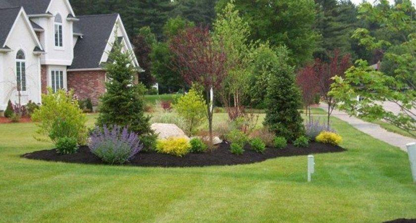 Country Driveway Garden Ideas End