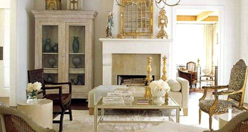 Country French Living Room Beautiful Homes Design Best