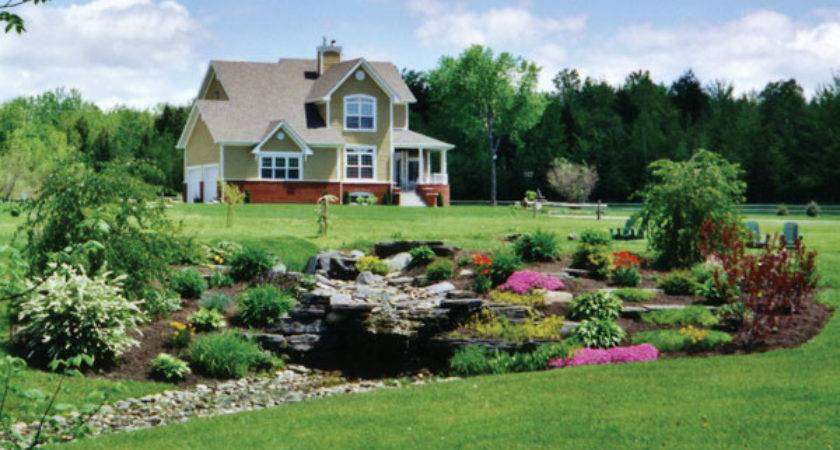 Country Homes Log Landscaping House Plans More