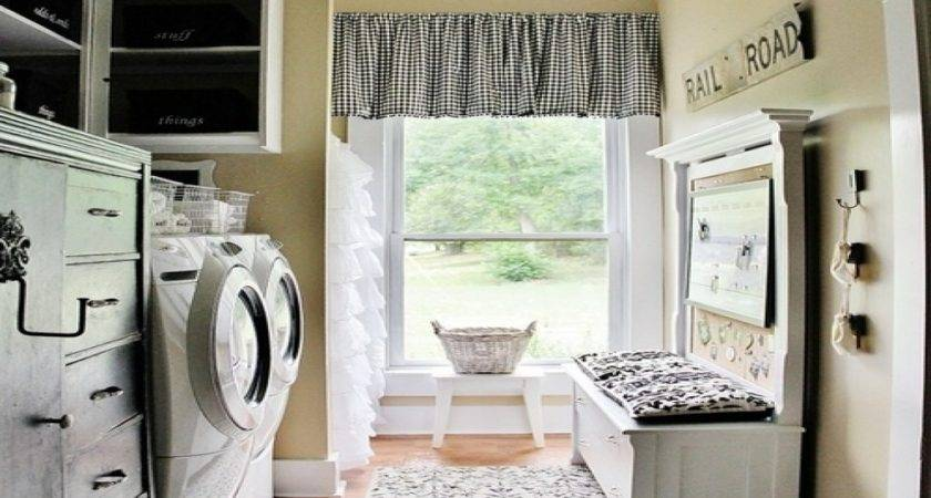 Country Laundry Room Decorating Ideas French