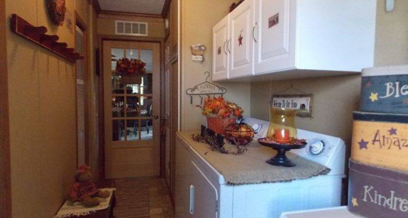Country Laundry Room Decorating Ideas Old Mobile Home