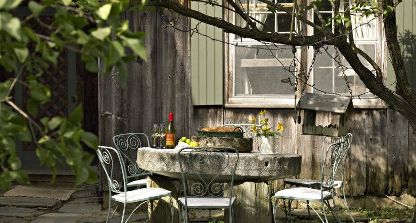 Country Patio Outdoor Design Ideas Lonny