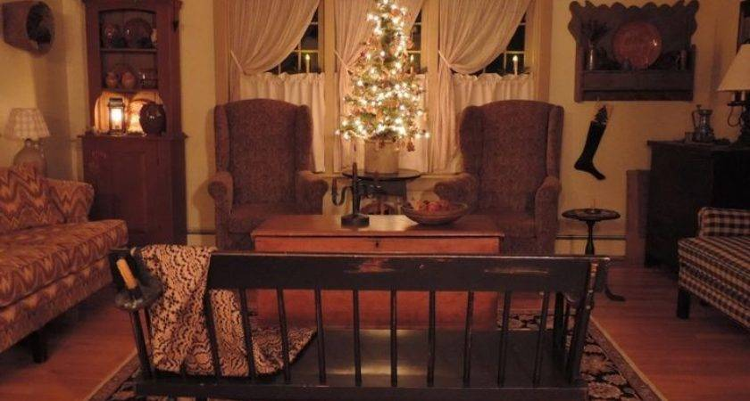 Country Primitive Living Room Decorating Ideas Modern