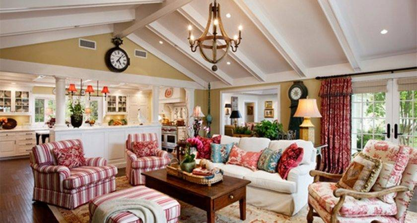 Country Style Living Room Furniture Design Perfect