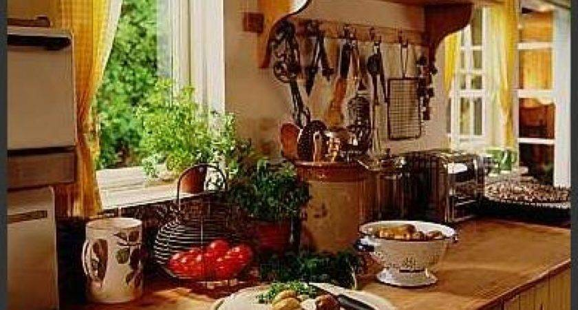 Country Themed Kitchen Decor Design Ideas