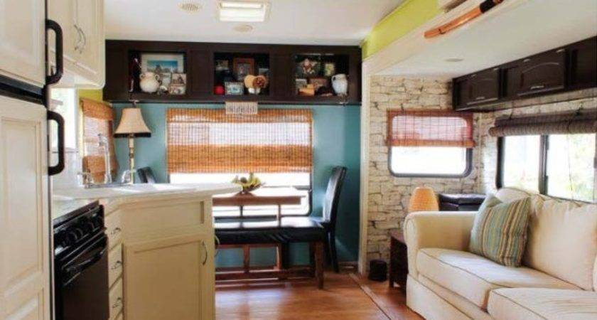 Couple Renovate Wheel Travel Trailer Into Tiny Home