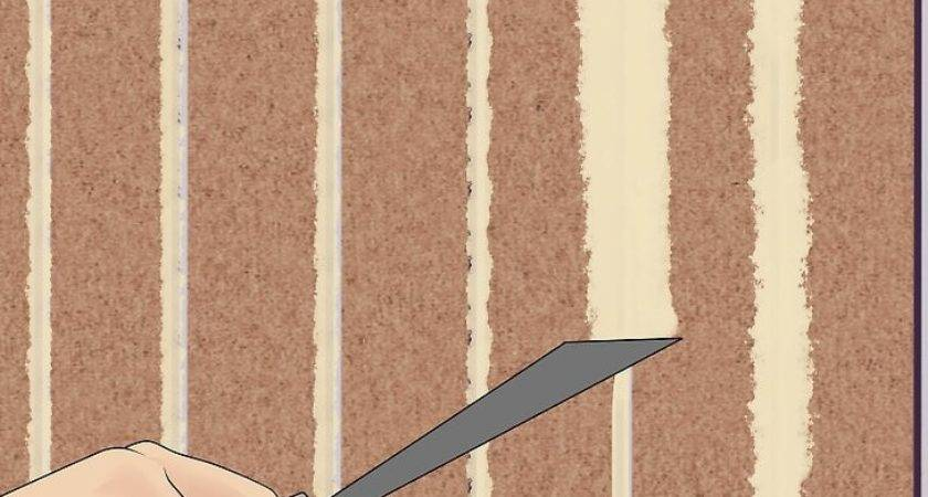 Cover Wood Paneling Wikihow