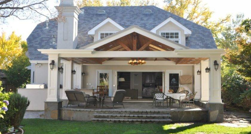 Covered Back Porches