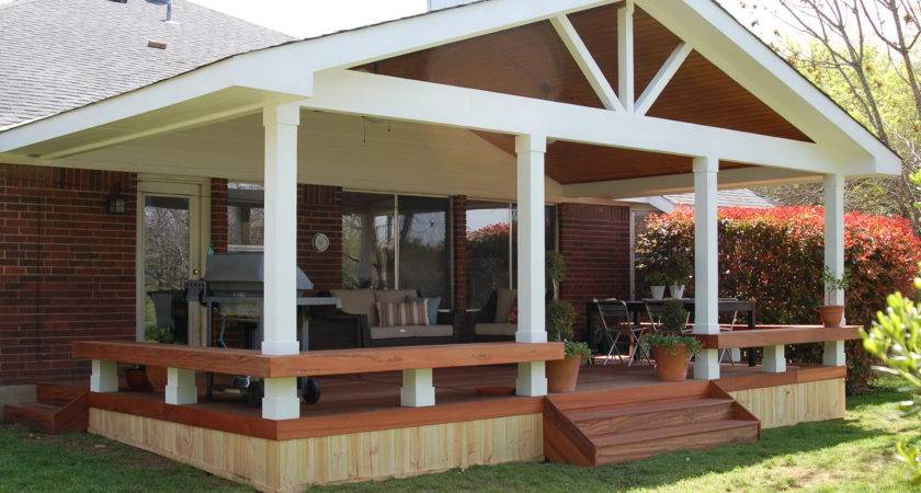 Covered Decks Offers Extra Place Enjoy Carehomedecor