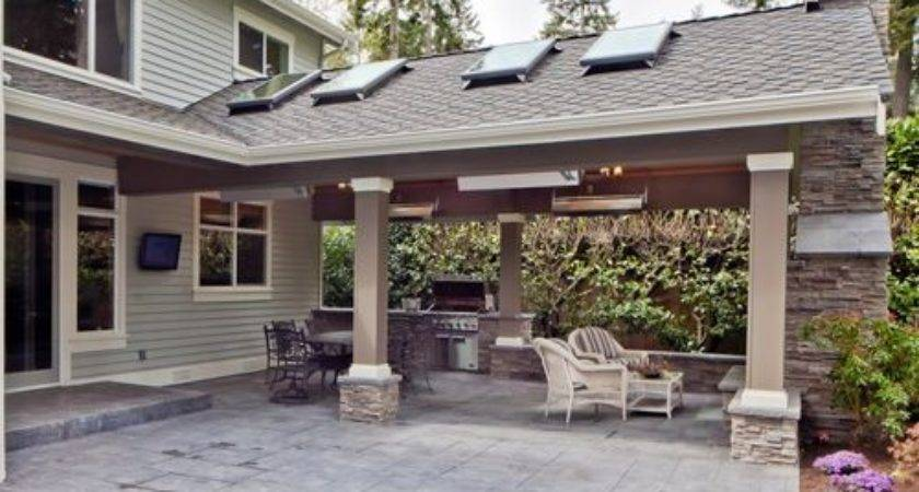 Covered Patio Addition Home Design Ideas