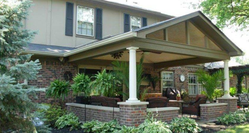 Covered Patio Roof Addition Carmel Gettum
