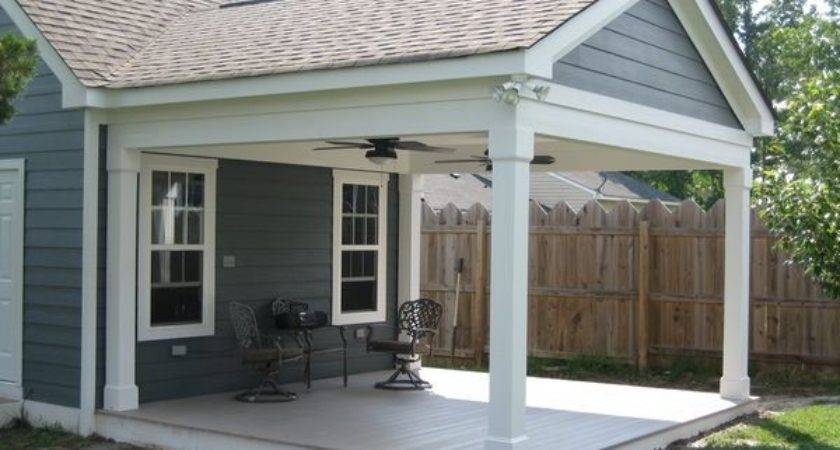 Covered Porch Additions Attached Back
