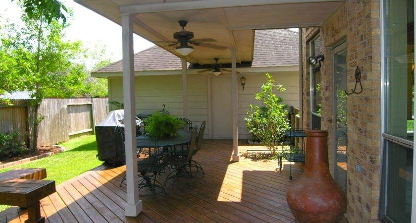 Covered Porch Deck Designs