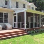 Covered Porch Midlothian Rva Remodeling Llc