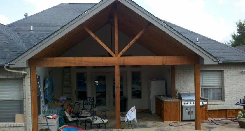 Covered Porch Outdoor Kitchen Ryan Tiffany