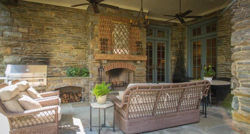 Covered Porches Car Interior Design