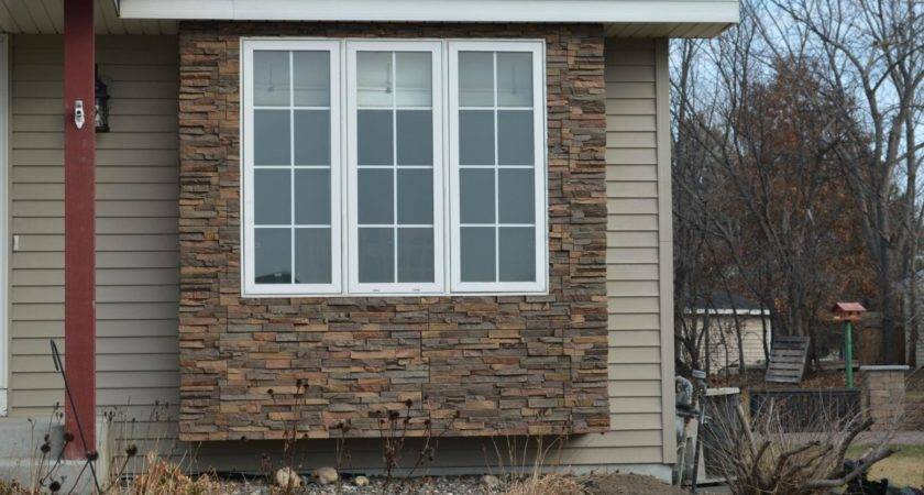 Covering Faux Rock Siding Stucco Wooden Houses