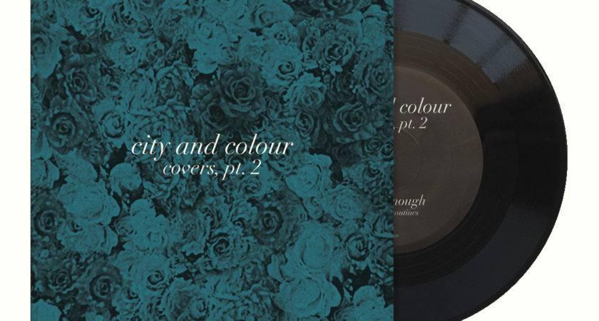 Covers Vinyl Black Music City Colour
