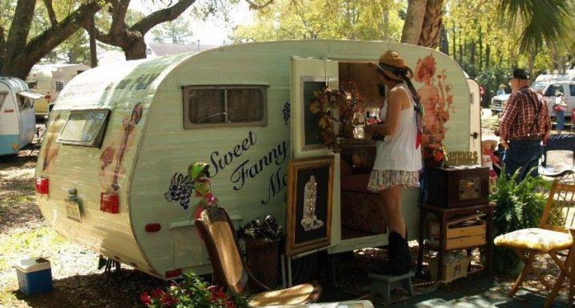 Cowgirl Caravan Vintage Travel Trailer Tour Photographs