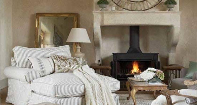 Cozy Living Room Design Fireplace