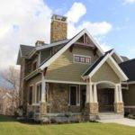 Craftsman Exterior Trim Home Design Ideas