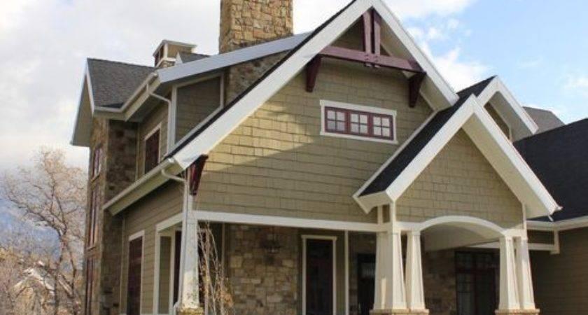 Craftsman Exterior Trim Home Design Ideas