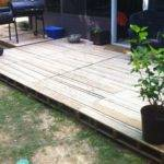 Crafty Life Pallet Deck