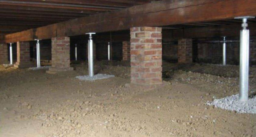 Crawl Space Joist Repair Greater Ottawa Foundation