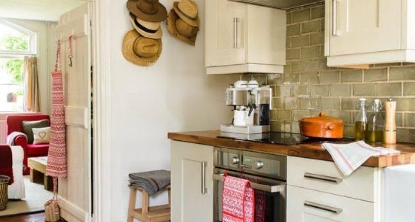 Cream Galley Kitchen Hat Wall Display Century