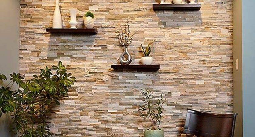 Create Faux Stone Accent Wall Handyman