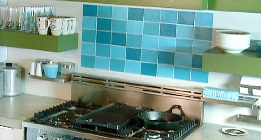 Create Faux Tile Backsplash Video Diy