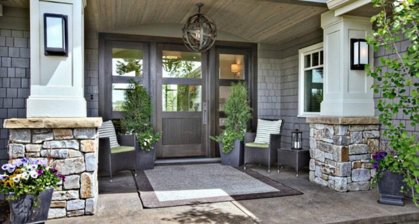 Create Welcoming Entrance New Front Door Home