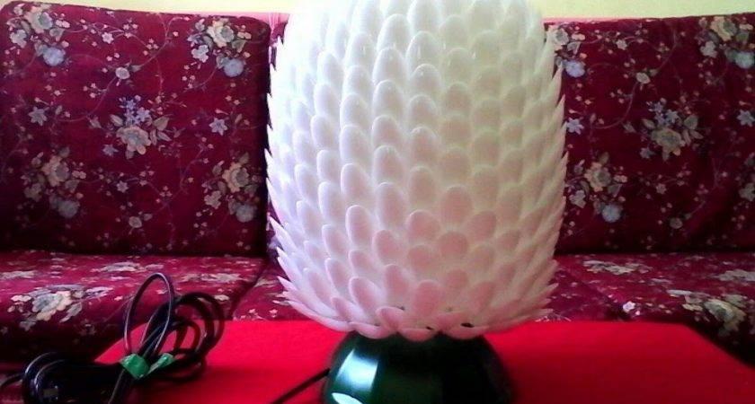 Create Your Own Unique Diy Lamp Plastic Spoons