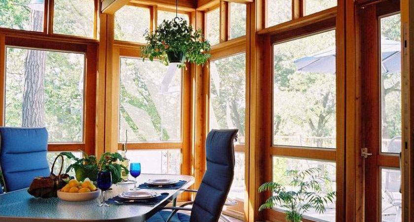 Creating Beautifully Transitional Enclosed Porch