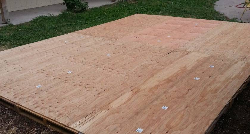 Creating Dance Floor Recycled Pallets Our
