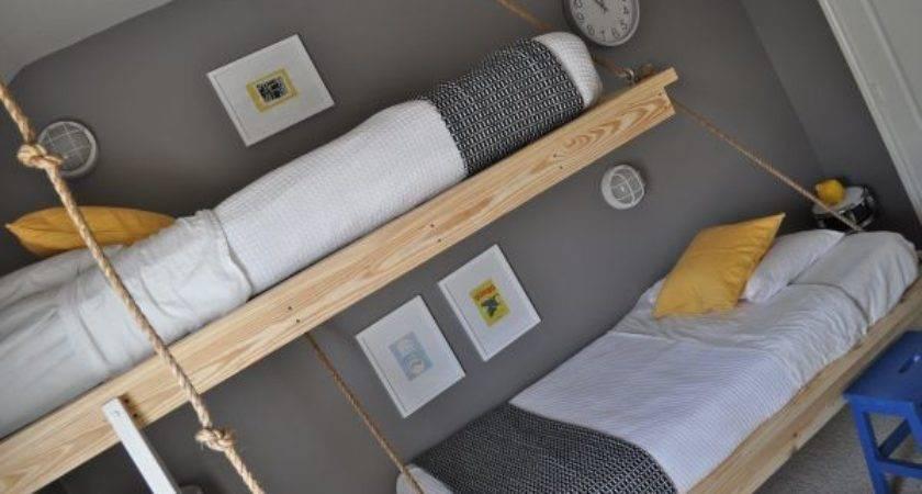 Creative Boys Room Decor Hanging Beds