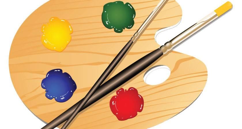 Creative Clipart Art Pallet Pencil Color